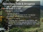 overcoming pride arrogance2