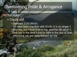 overcoming pride arrogance22