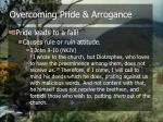 overcoming pride arrogance5