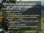 overcoming pride arrogance6
