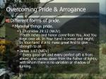 overcoming pride arrogance8