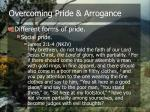 overcoming pride arrogance9