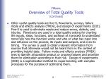 fifteen overview of total quality tools continued5