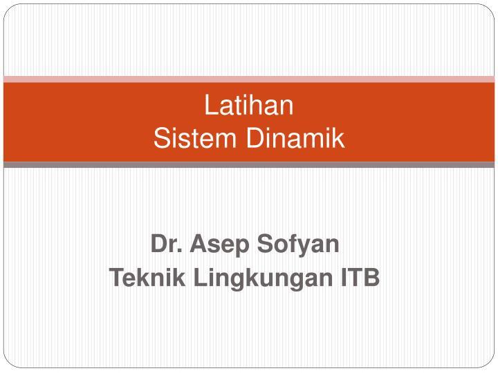 latihan sistem dinamik n.