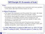 mp principle 3 economies of scale