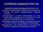 carrera administrativa12