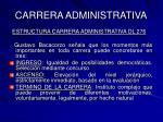 carrera administrativa22