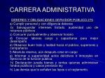 carrera administrativa23