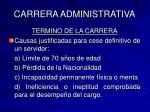 carrera administrativa33