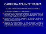 carrera administrativa44