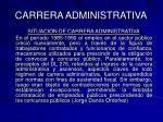 carrera administrativa45