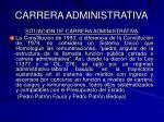 carrera administrativa46