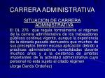 carrera administrativa47