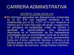 carrera administrativa5