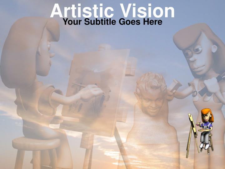 artistic vision n.