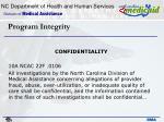 program integrity11
