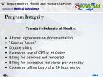 program integrity14