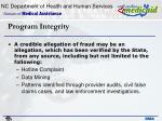 program integrity19