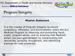 program integrity2
