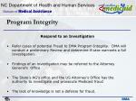 program integrity27