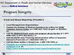 program integrity36