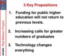 funding for public higher education will not return to previous levels