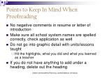 points to keep in mind when proofreading1