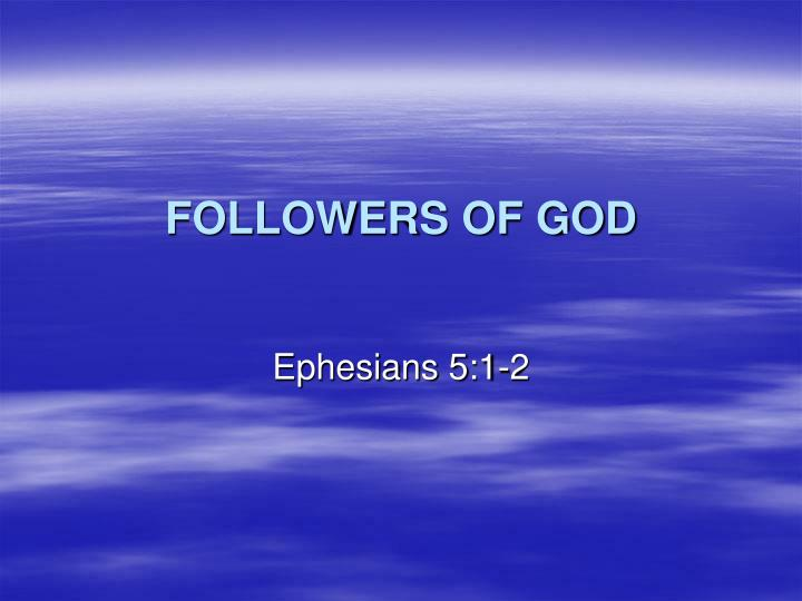 followers of god n.