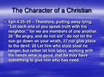 the character of a christian1
