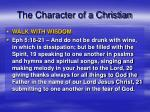 the character of a christian5