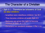 the character of a christian7
