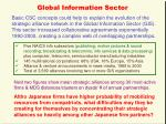 global information sector