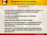 chapter 6 foundations of business intelligence databases and information management