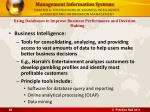 chapter 6 foundations of business intelligence databases and information management26