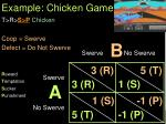 example chicken game