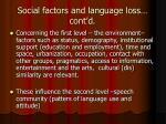 social factors and language loss cont d1