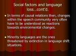 social factors and language loss cont d2