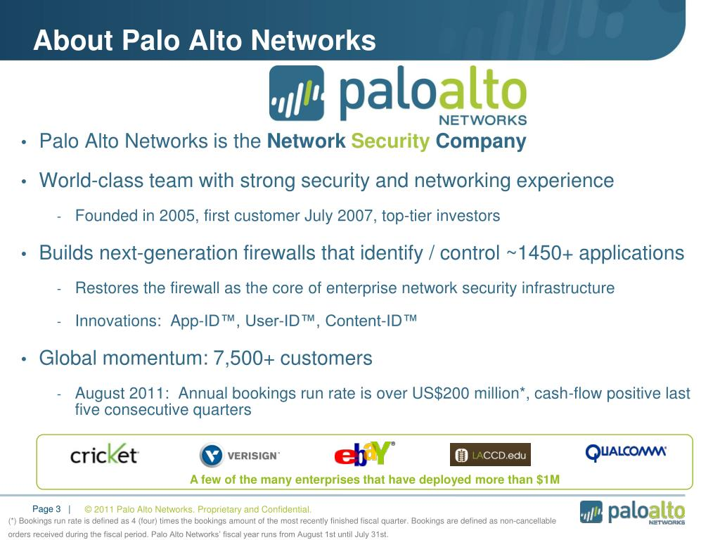 PPT - Palo Alto Networks Overview PowerPoint Presentation