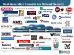next generation firewalls are network security