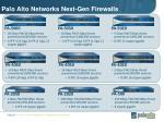 palo alto networks next gen firewalls