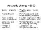 aesthetic change 2000
