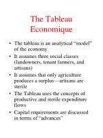 the tableau economique