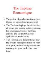 the tableau economique1