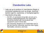 clandestine labs