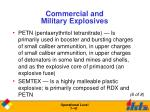 commercial and military explosives5