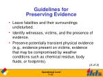 guidelines for preserving evidence2