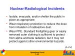 nuclear radiological incidents1