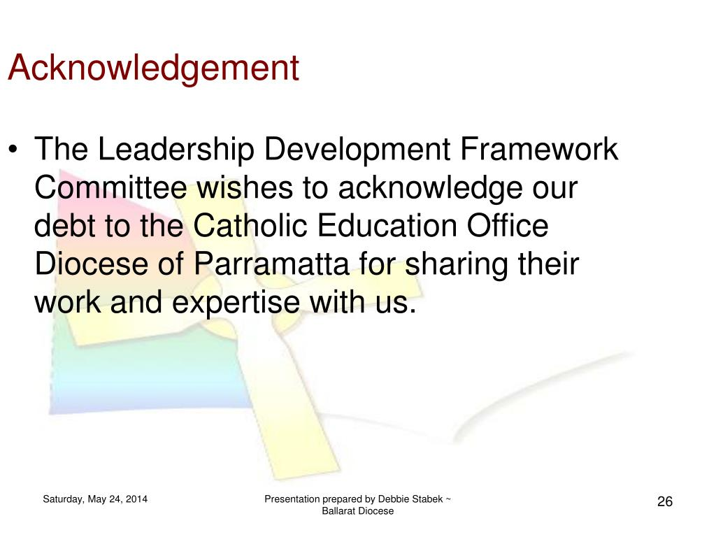 PPT - LEADERSHIP DEVELOPMENT FRAMEWORK PowerPoint