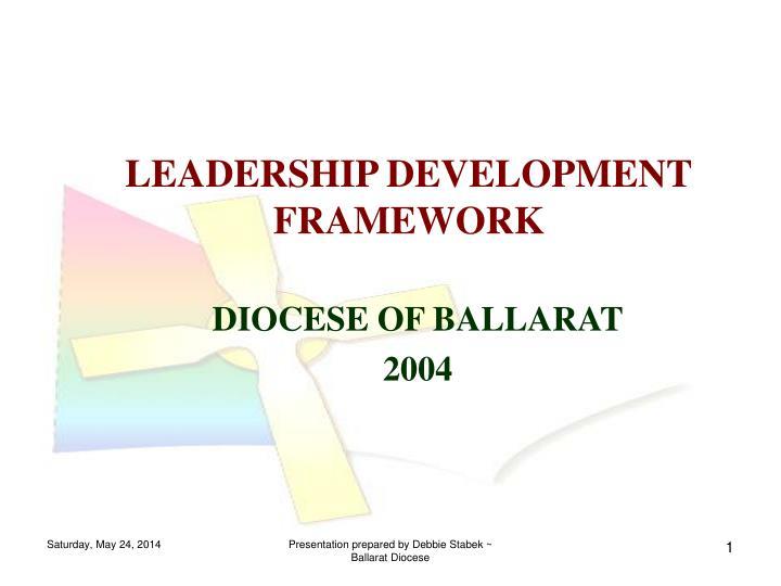 leadership development framework n.