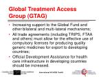 global treatment access group gtag